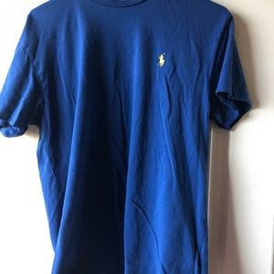 POLO blue short sleeve, size small